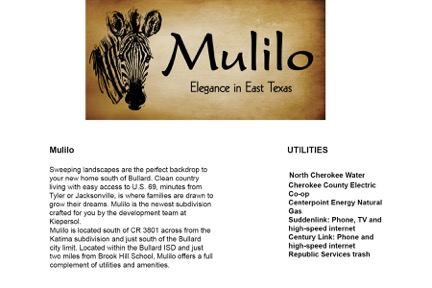 mulilo-description-directions
