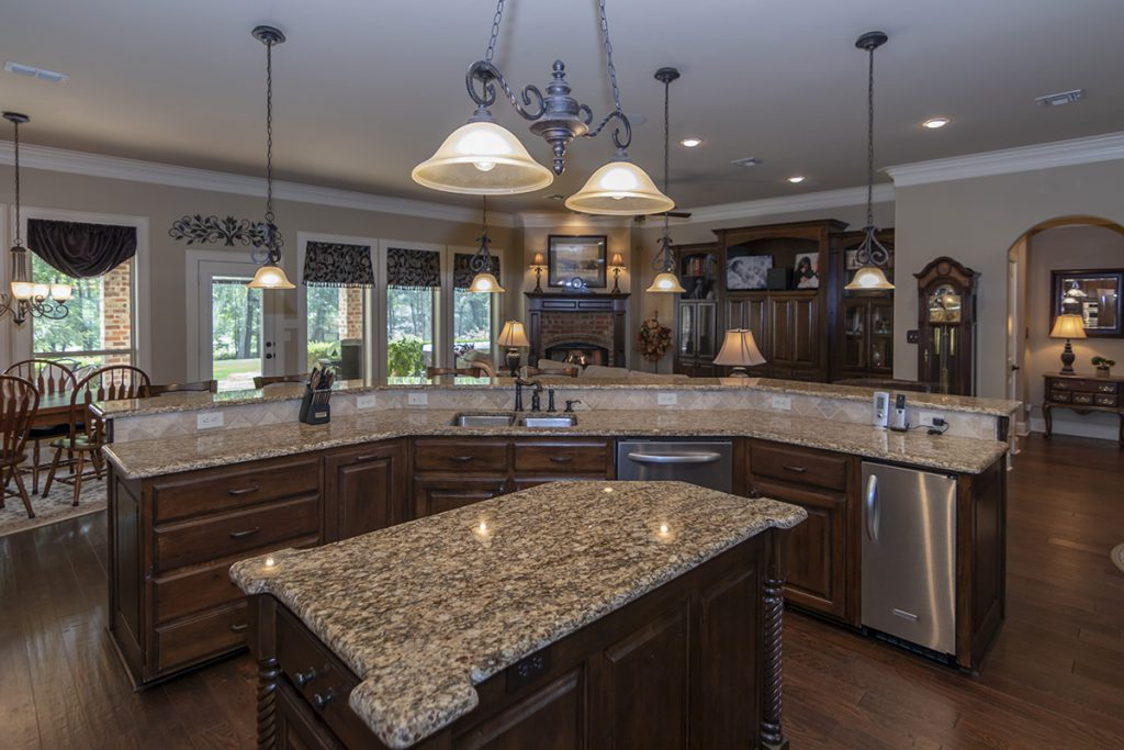 Kitchen Island - 207 King Ct. Bullard TX 75757