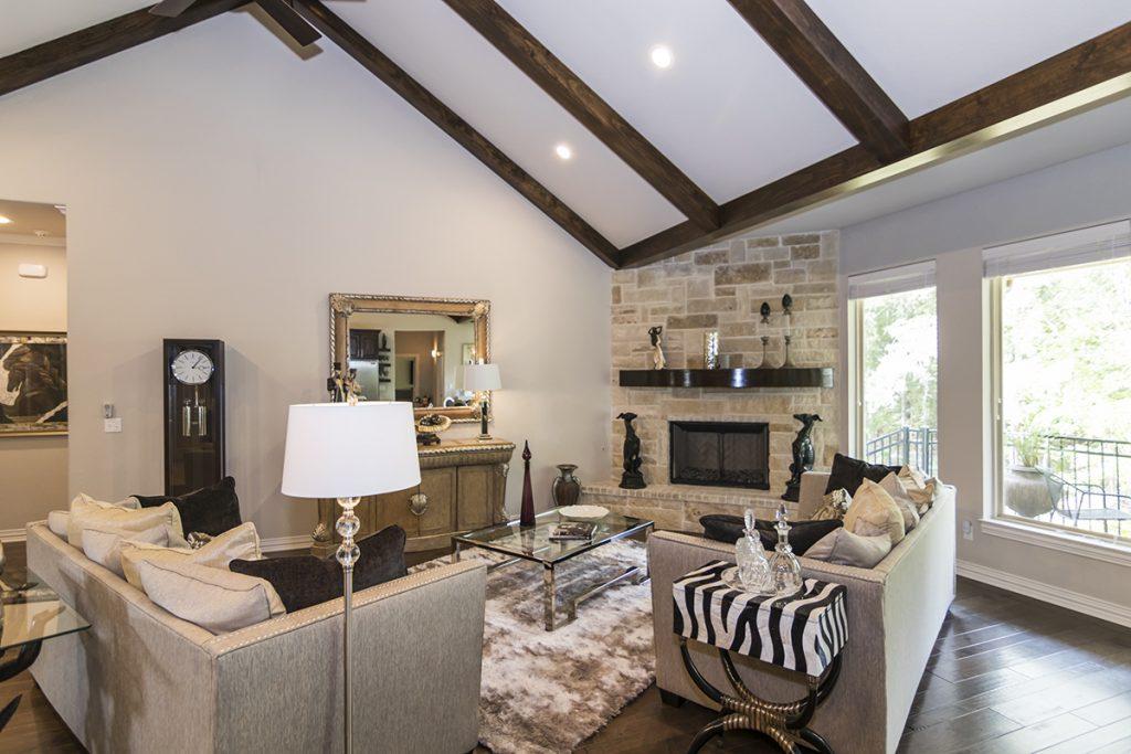 Living Rm Fireplace - 1567 Chaparrel Run Tyler, TX 75703