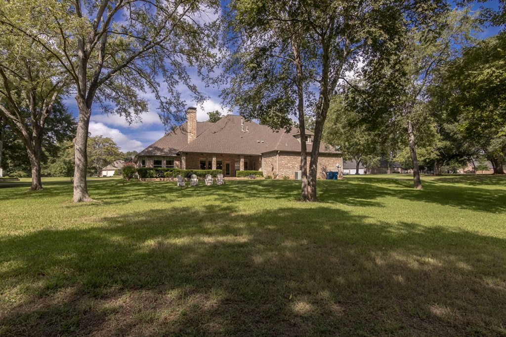 Rear Elevation - 207 King Ct. Bullard TX 75757